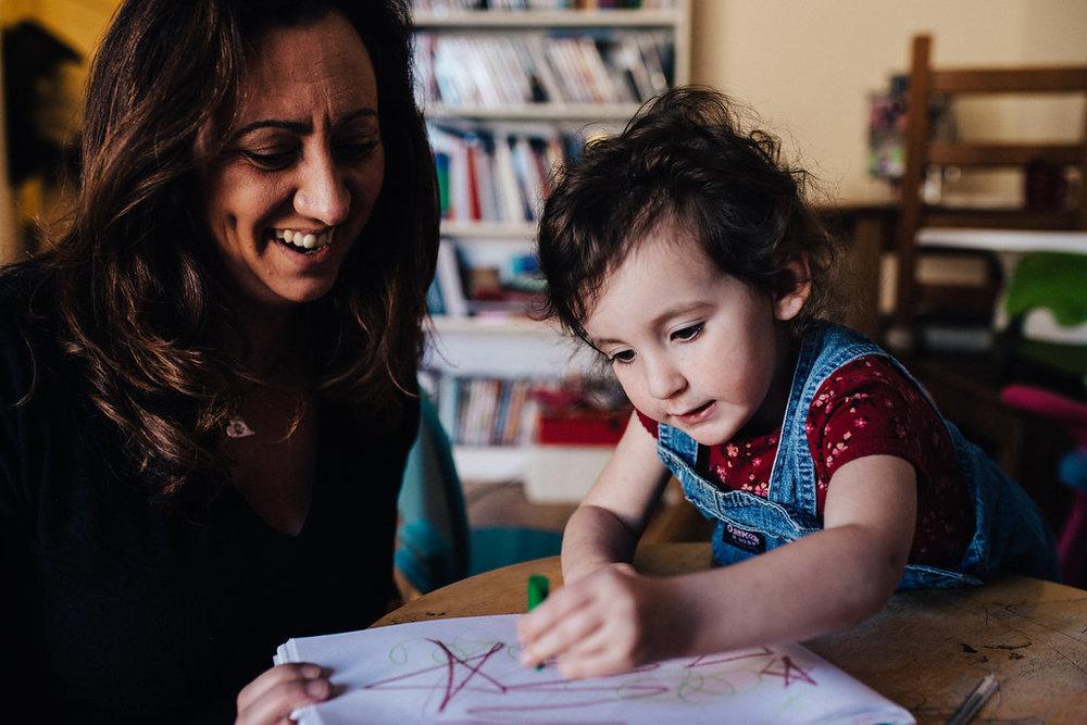 Alyssa, mum of 3-year-old Lola