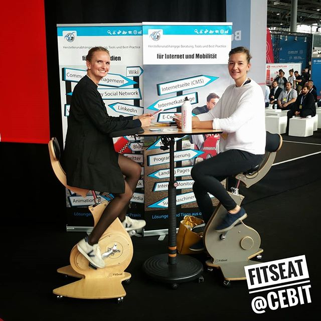 #FitSeat found new #Fans @cebit