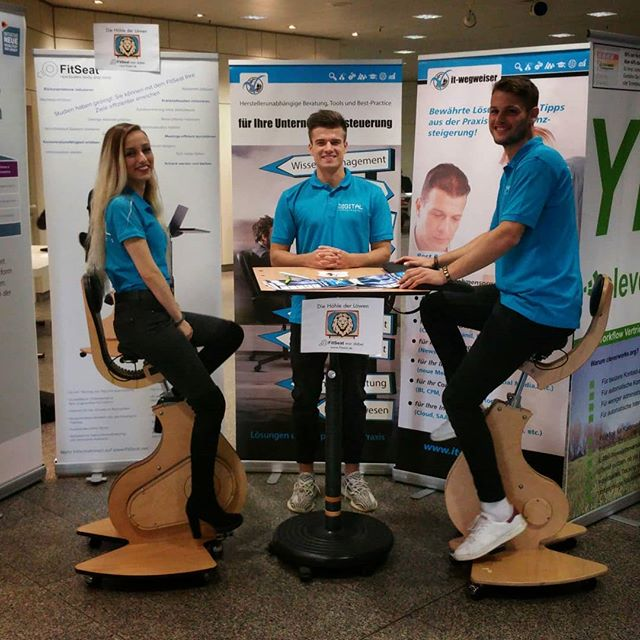 #FitSeat, die Bürorevolution rockt den Digital Future Kongress in #Essen . . . . .