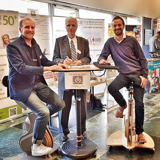 #FitSeat, die Bürorevolution rockt den ProFachkräfte Kongress in #Nürnberg. . . . . .