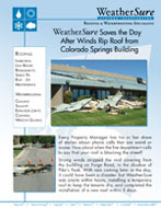 Emergency Wind Damage Repair in Colorado Springs