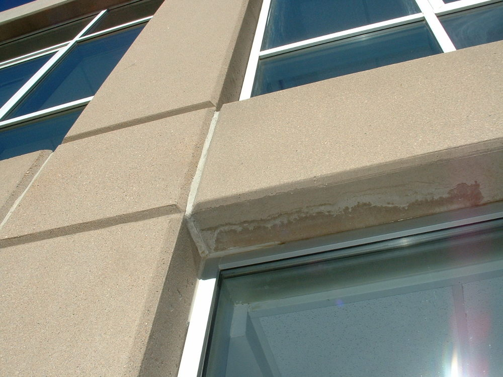Curtain wall sealants weathersure systems inc - Silicone paint for exterior walls ...