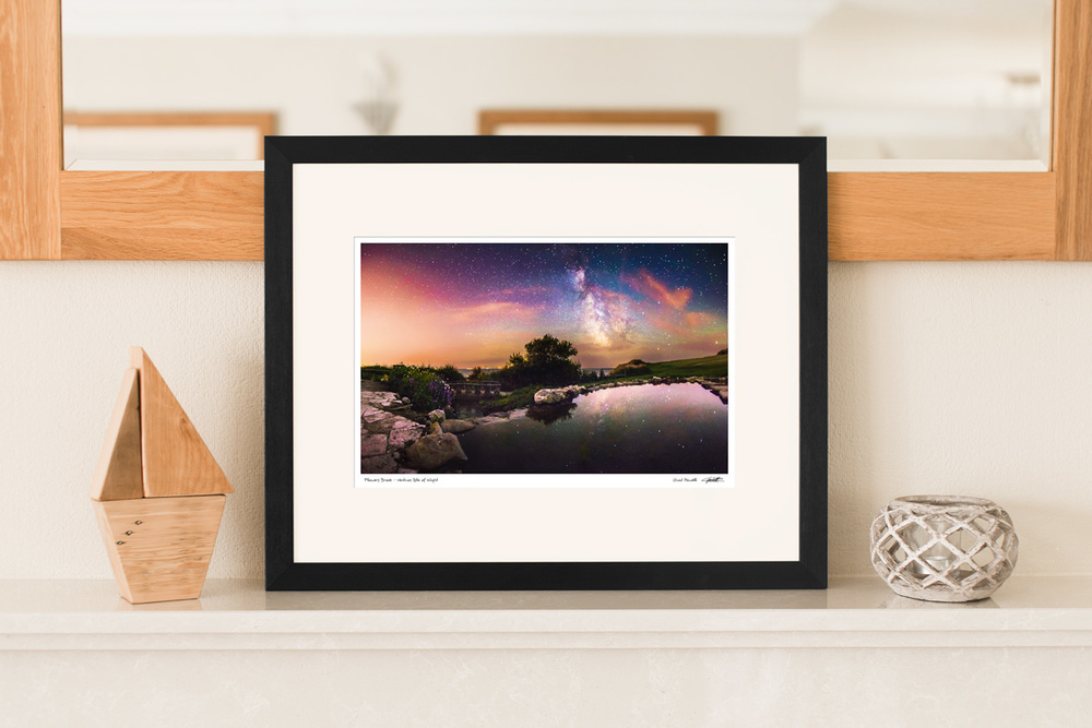 not on the high street framed print | Isle of Wight Milky Way and Landscape Photography