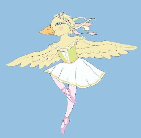 Duckling Ballerina
