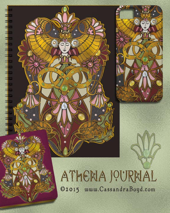 Athena Journal & Phone Cover