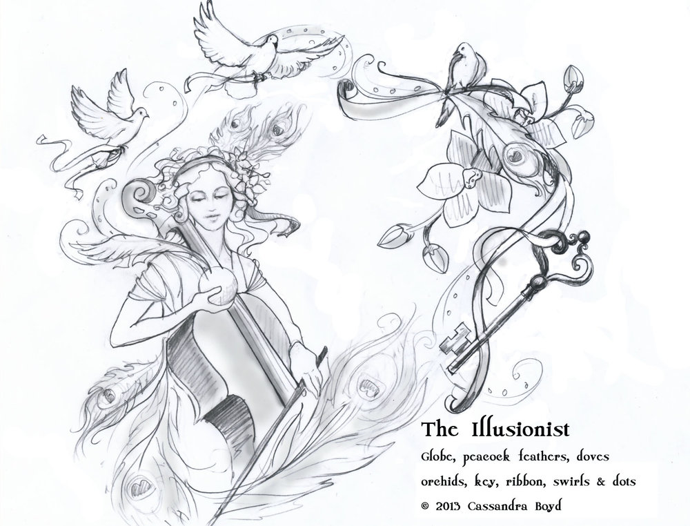 The Illusionist Concept Sketch
