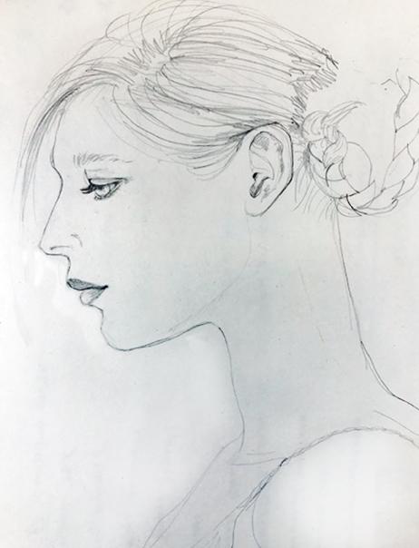 Bride sketch