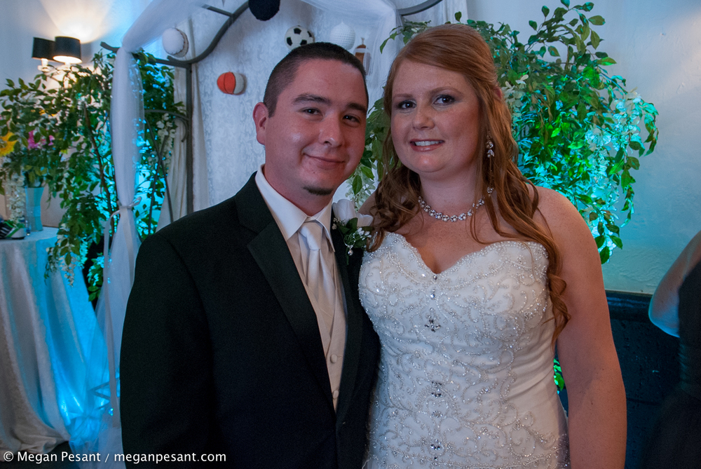 First photo as husband and wife