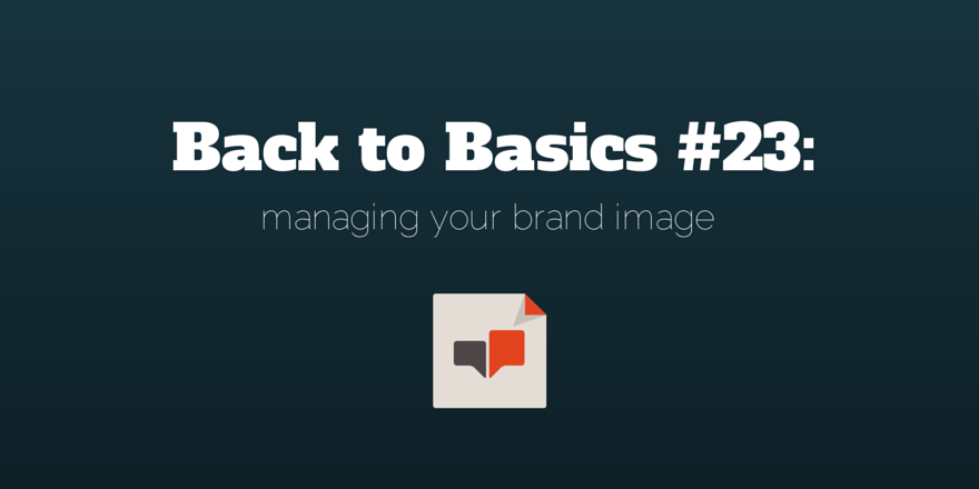 managing-your-brand-image