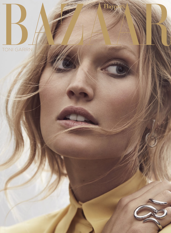 Toni Garrn for Harpers Bazaar