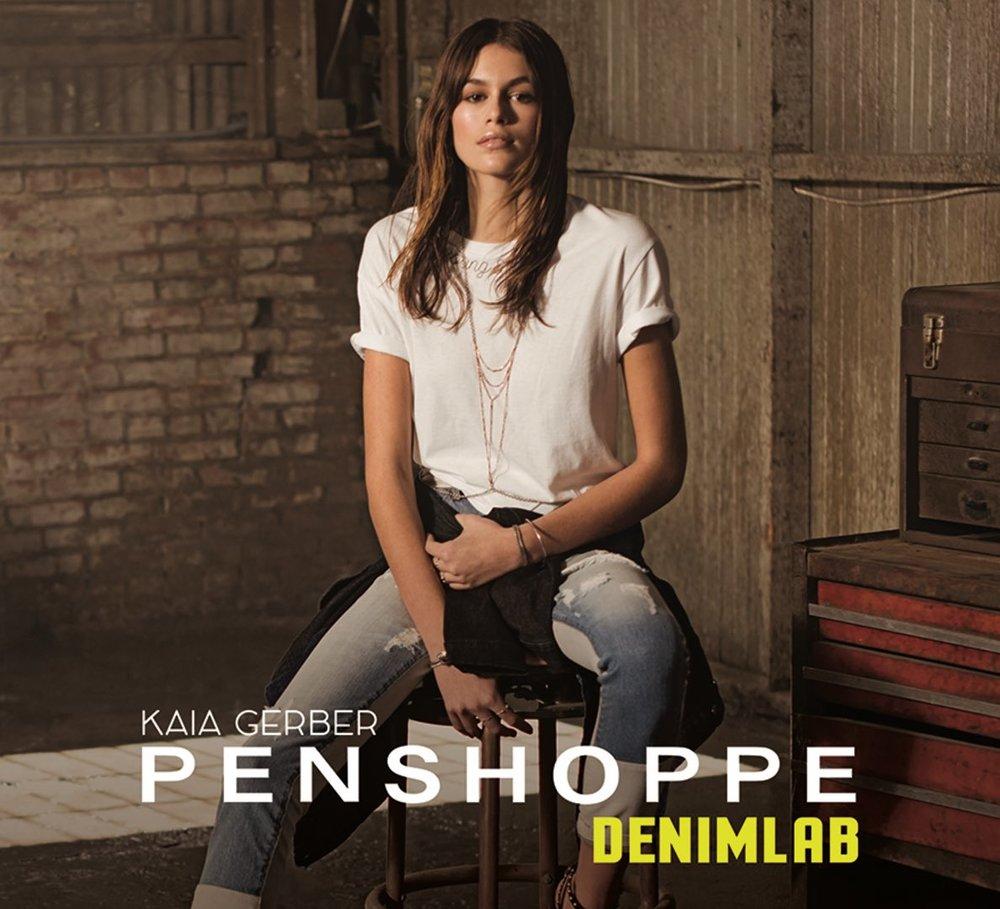 Kaia Gerber for Penshoppe