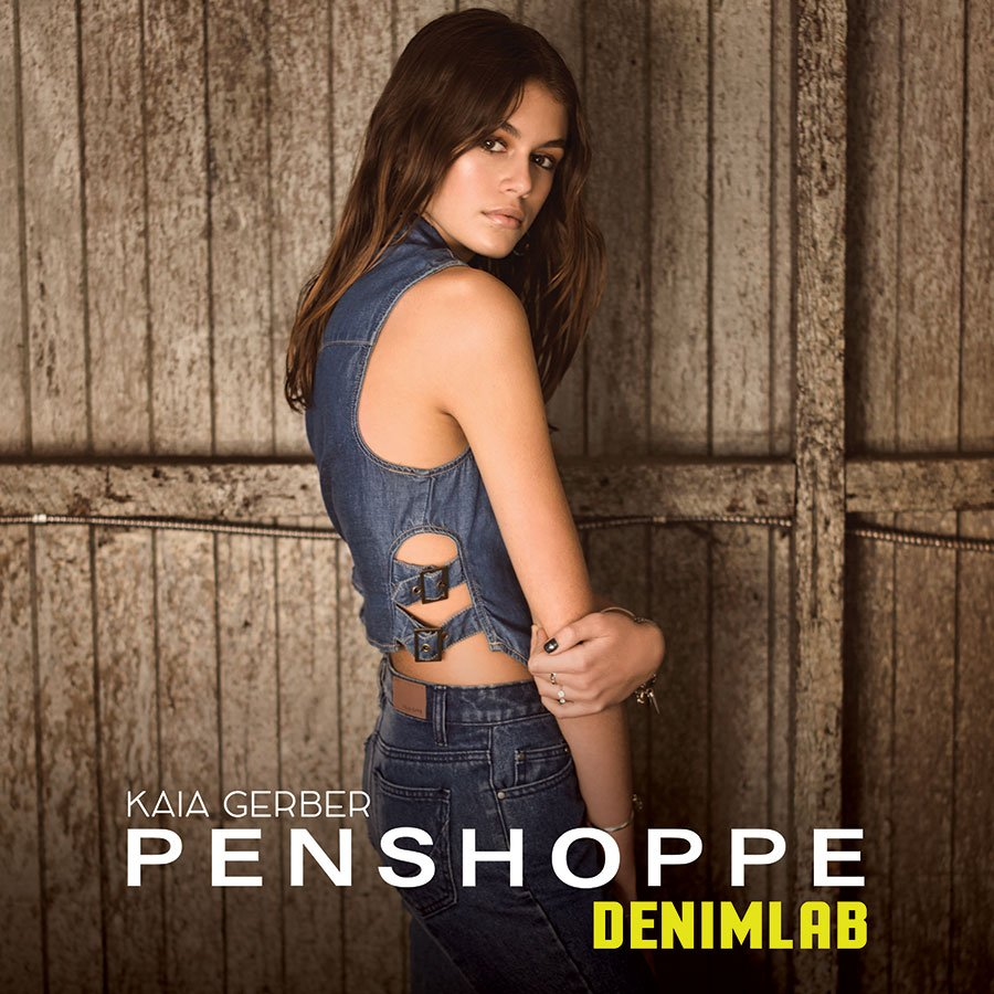 Kaia Gerber for Penshoppe