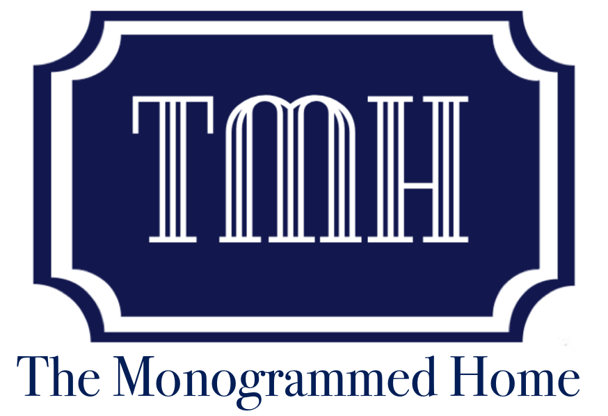 The Monogrammed Home