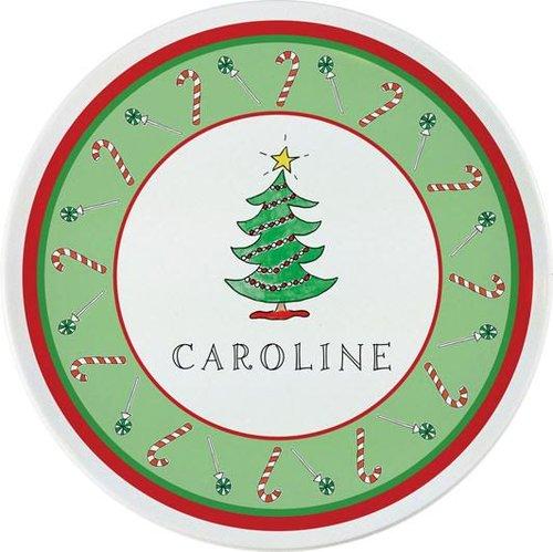 christmas melamine special occasion plate