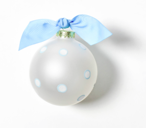 my first christmas blue snowman christmas ornament