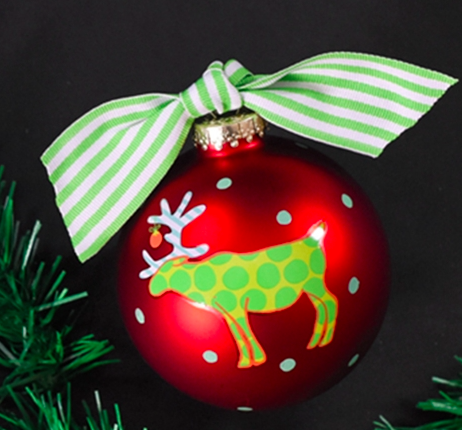 Moose Christmas Ornament - Moose Christmas Ornament €� The Monogrammed Home