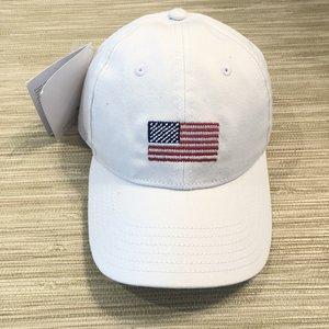 db664c53ca4db White American Flag Needlepoint Baseball Cap