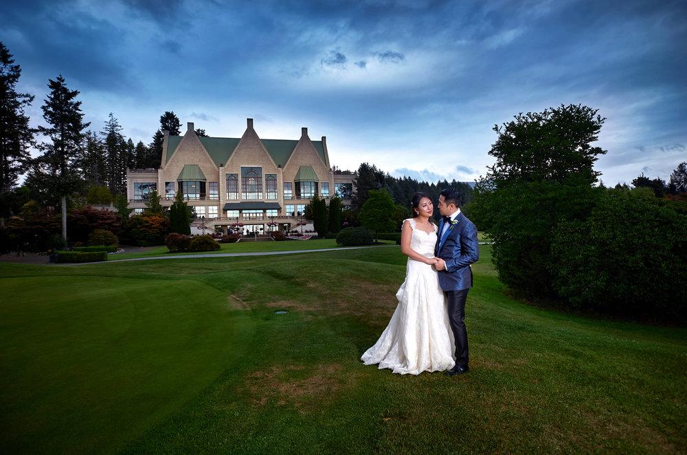 Vancouver wedding photography Swaneset bay resort