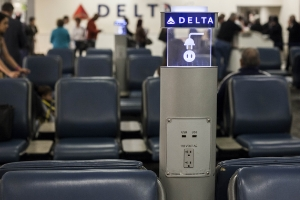 Delta Air Lines Charging Station