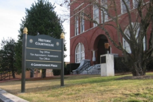 FLOYD COUNTY COURTHOUSE ROME, GA EXTERIOR SIGNAGE