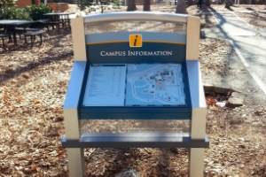 DAVIDSON COUNTY COMMUNITY COLLEGE  THOMASVILLE, NC CAMPUS WAYFINDING