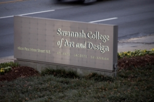 SAVANNAH COLLEGE OF ART & DESIGN   ATLANTA, GA EXTERIOR SIGNAGE