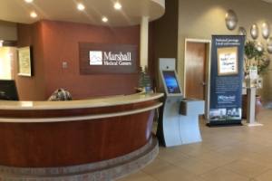 MARSHALL MEDICAL CENTER  CAMERON PARK, CA LOGICJUNCTION WAYFINDING KIOSKS