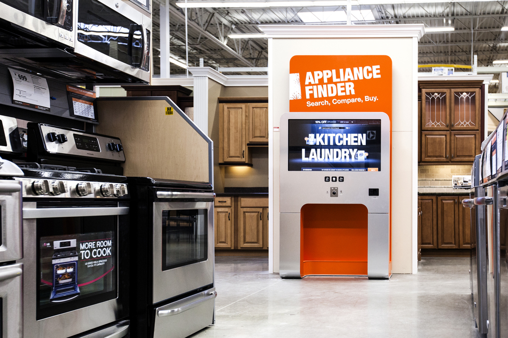 THE HOME DEPOT  ENDLESS AISLE DIGITAL KIOSK