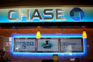 CHASE BANK  DIGITAL SIGNAGE WALL