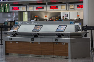 SAN FRANCISCO INTERNATIONAL AIRPORT  SELF-SERVICE CHECK-IN KIOSKS