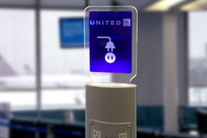 UNITED  AIRLINES  CHARGING STATIONS