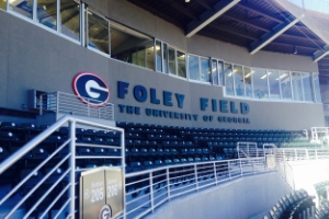 UNIVERSITY OF GEORGIA FOLEY FIELD STADIUM SIGNAGE