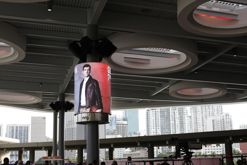 XFINITY PLAZA @ AMERICAN AIRLINES ARENA MIAMI, FL EXTERIOR SIGNAGE