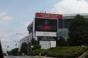 GEORGIA DOME  ATLANTA, GA PYLON DIGITAL SIGNAGE