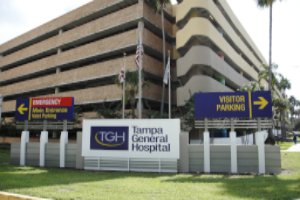 TAMPA GENERAL HOSPITAL  TAMPA, FL EXTERIOR SIGNAGE & PARKING GARAGE