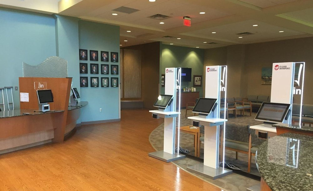 ST. CLOUD ORTHOPEDICS  SARTELL, MN CLEARWAVE CHECK-IN KIOSKS