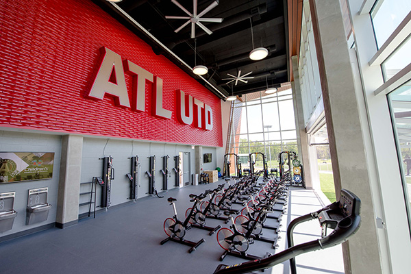 ATLANTA UNITED TRAINING FACILITY  ATLANTA, GA INTERIOR SIGNAGE & GRAPHIC
