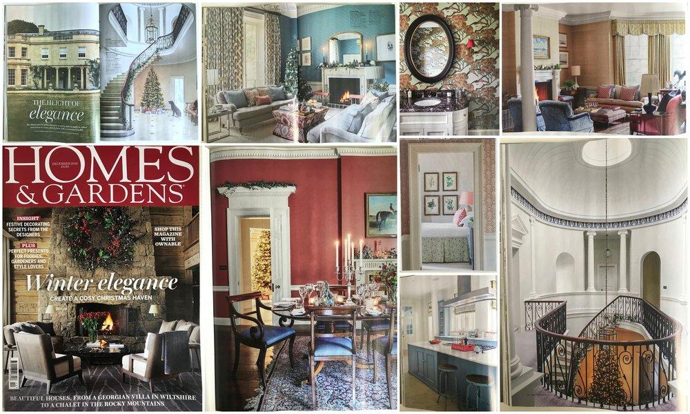 Homes & Gardens Magazine December 2018