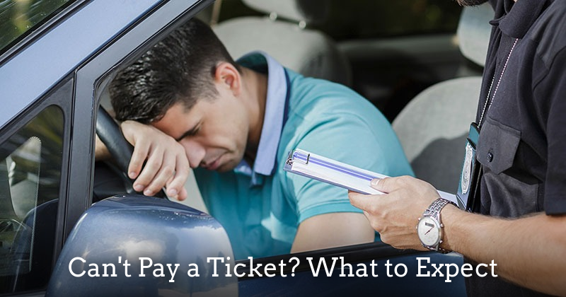 What happens if you can't pay a ticket? - fresno criminal attorney