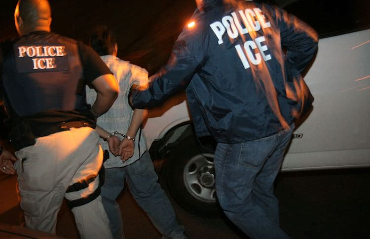 ICE raids continue to rise as new policies get implemented.  Getty Images.