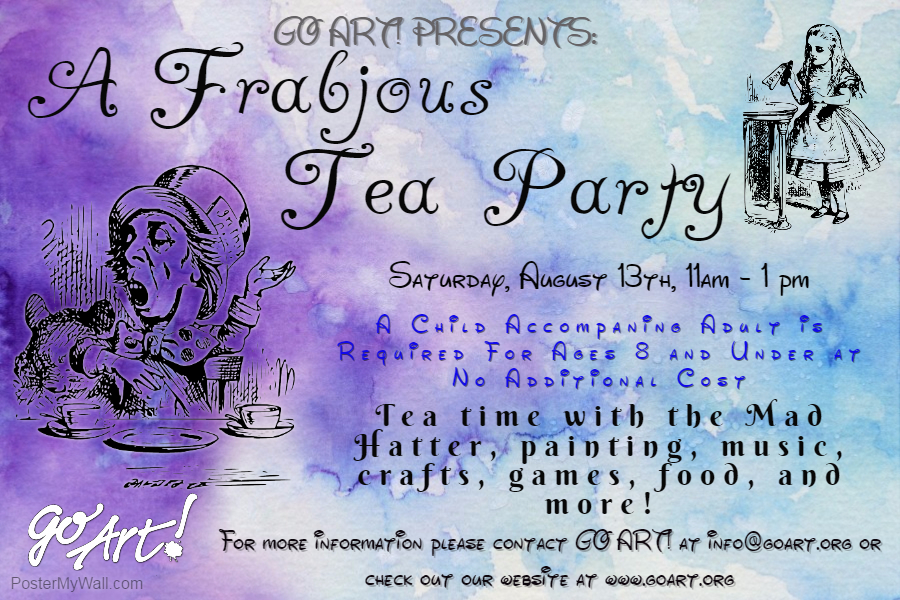 Children will delight with this MAAAAAD tea party and day of fun!