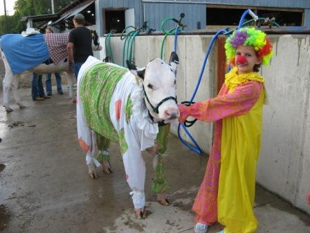 Wyoming County Fair Costume Show, 2012