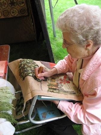 Rug hooking, Joanne Kelly, 2011