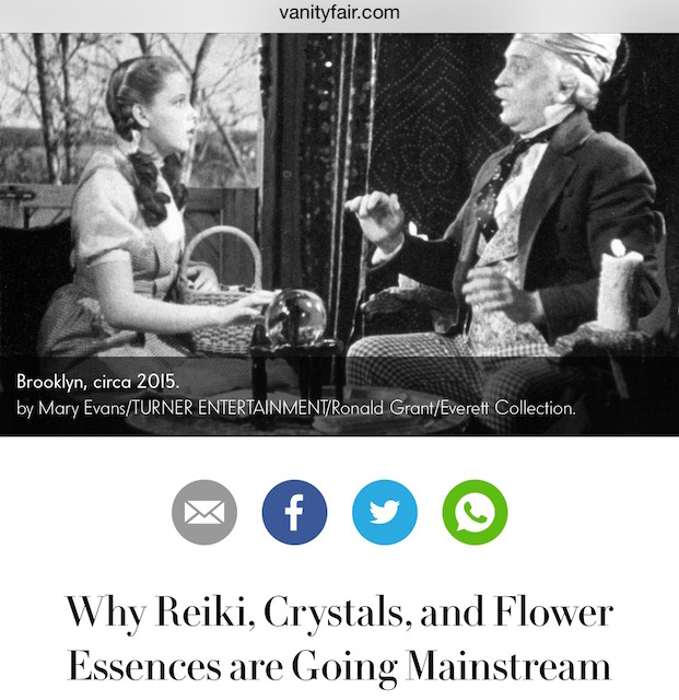 Why Reiki, Crystals, and Flower Essences are Going Mainstream. www.krista-mitchell.com
