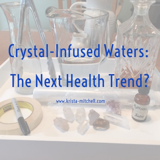 How to Make Crystal Waters by Krista Mitchell