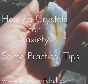 Healing Crystals for Anxiety: Some Practical Tips. There's anxiety about the state of our money and relationships, our careers, change, travel, mental and emotional health, spiritual comfort zones, and personal safety, just to identify a few. Anxiety can spring from things we think are negative as well as positive, and it's a prevalent issue because we're coping with so many different forms and levels of stress, frustration, and fear. Here's some crystals that help, and how to work with them.