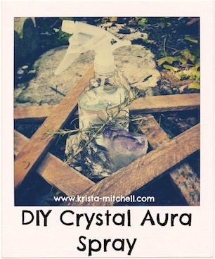 DIY Crystal Aura Spray recipe by Krista N. Mitchell
