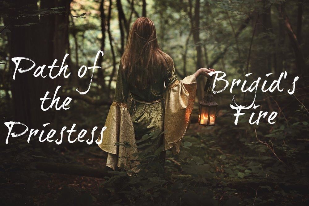 Path of the Priestess: Brigid's Fire / krista-mitchell.com