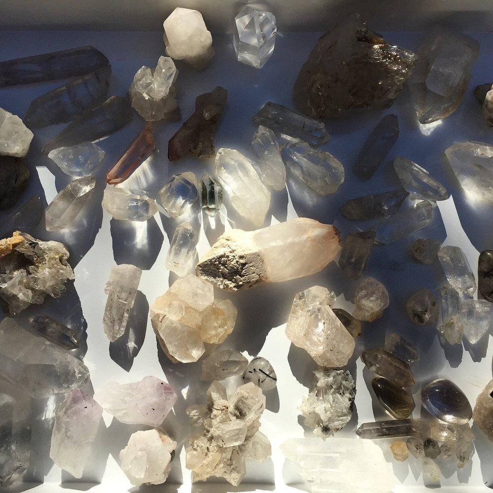 gorgeous quartz crystal / krista-mitchell.com