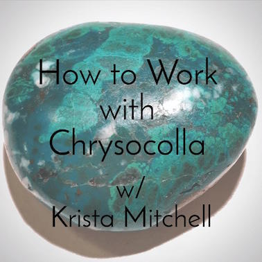 How to Work with Chrysocolla / krista-mitchell.com